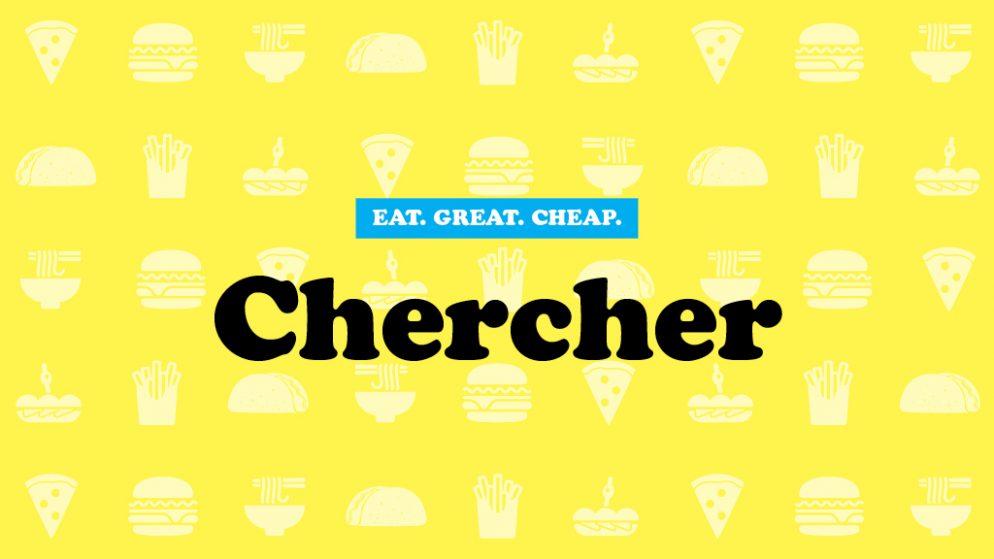 Chercher Cheap Eats 2016