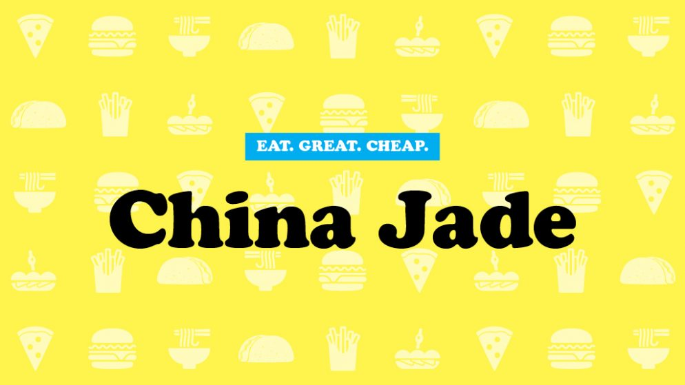Cheap Eats 2016: China Jade
