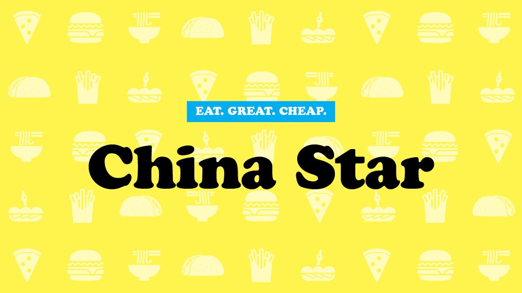 China Star Cheap Eats 2016