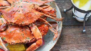 New This Week: Blue Crab Boils, BLT Sushi, and Porchetta Bingo