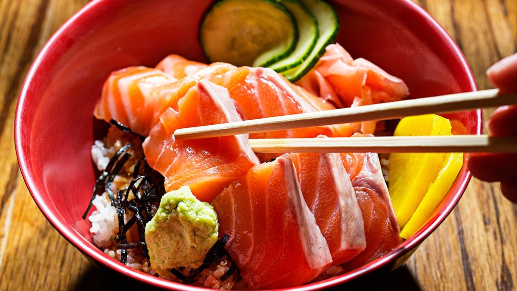 Donburi Cheap Eats 2016, restaurant delivery DC