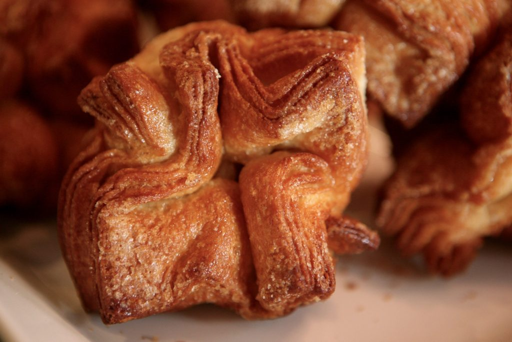 Expect riffs on classics, like a take on the French pastry, kouign amann.
