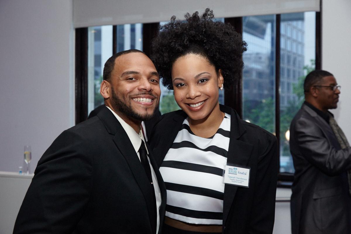 Finalist Tijeerah Henderson and Reney Henerson.