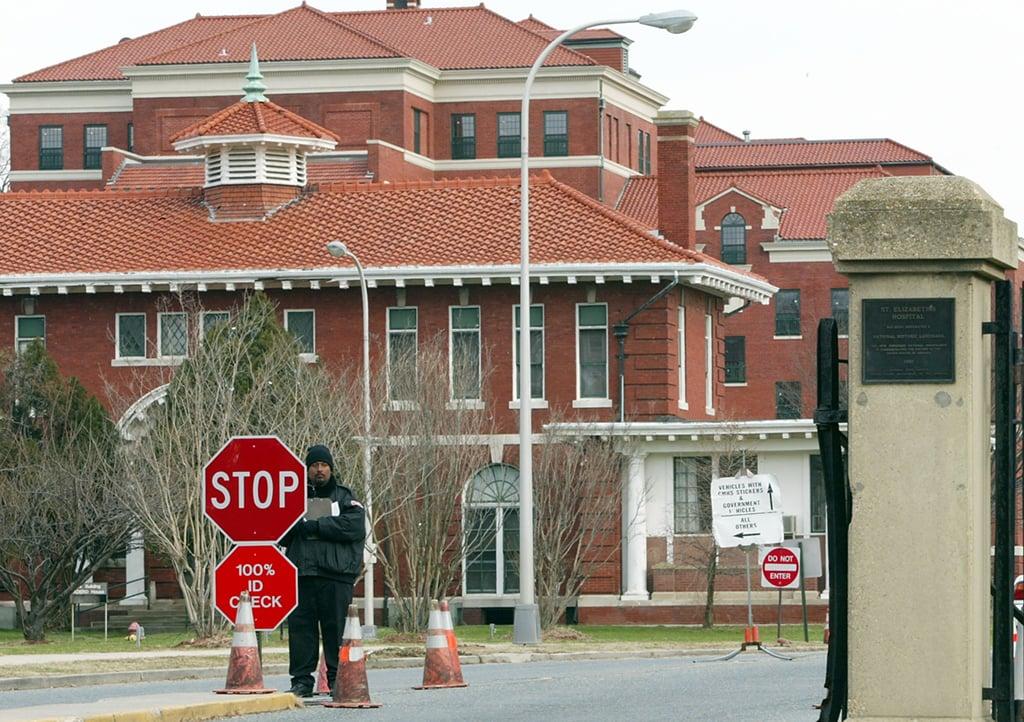 John Hinckley St. Elizabeths Hospital in DC