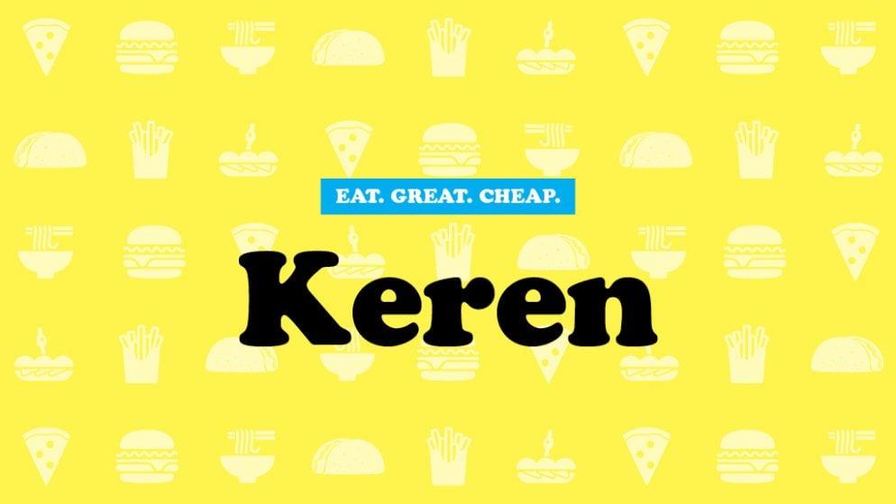 Cheap Eats 2016: Keren