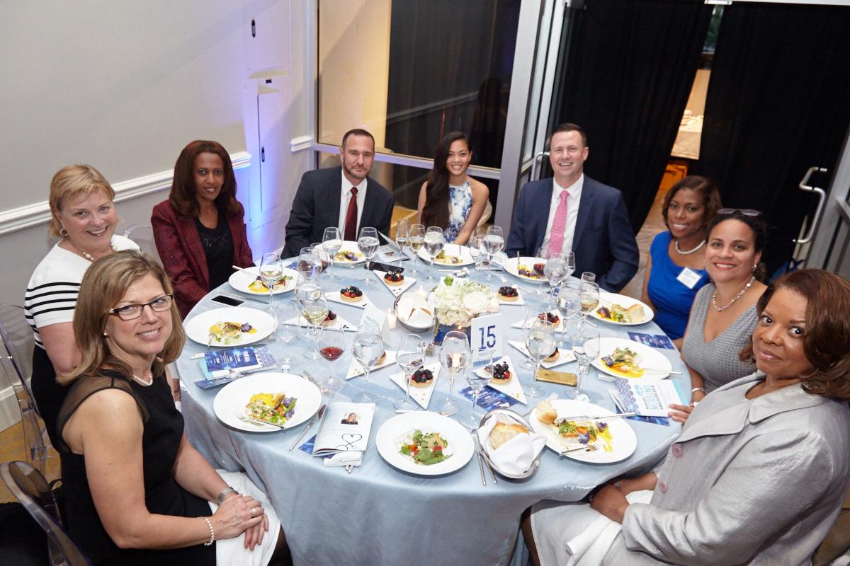 MedStar Washington Hospital Center purchased a table sponsorship in support of finalists Rachel Rosenberg, Pramila Jaladanki, Dionne Ross and Tijeerah Henderson.