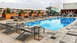 The Liaison's Revamped Rooftop Pool Bar Opens Thursday