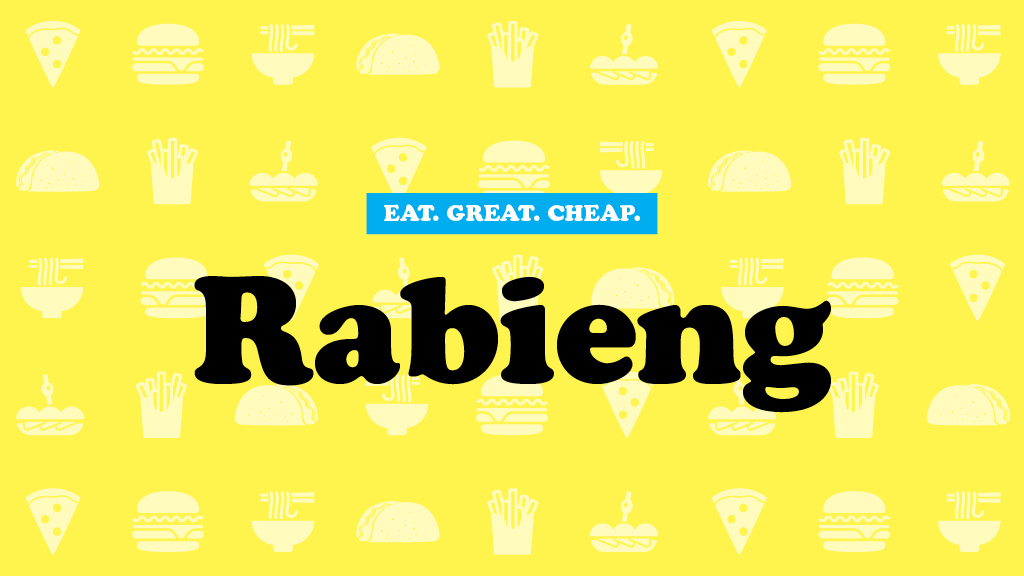 Rabieng Cheap Eats 2016