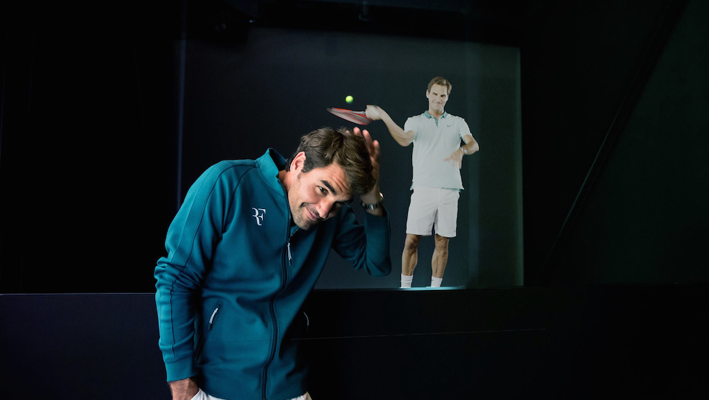Fairfax Native's Hologram Product Lets You (Virtually) Play Tennis With Roger Federer