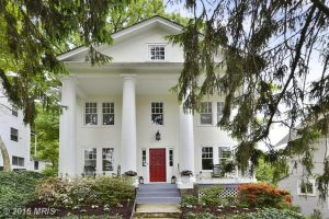 "Brookland's ""White House"" Is For Sale"