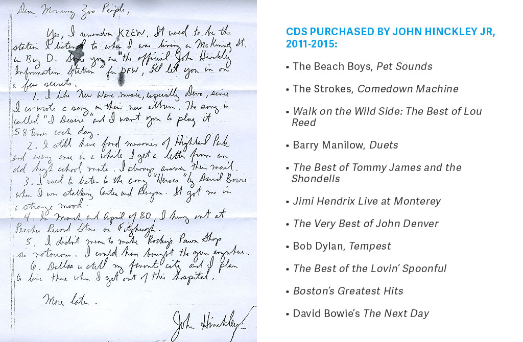 Fascinating How John Hinckley Lives Now  Washingtonian With Exquisite Hinckley Wrote To Djs At Kzew In Dallas Tx Explaining How He Used To  Listen To The Song Heroes By David Bowie While He Was Stalking Carter  And  With Astonishing Gardening Questions Uk Also Youtube The Night Garden In Addition Childrens Gardening Tools And Retractable Garden Canopy As Well As Garden Sheds X Additionally Garden House Istanbul From Washingtoniancom With   Exquisite How John Hinckley Lives Now  Washingtonian With Astonishing Hinckley Wrote To Djs At Kzew In Dallas Tx Explaining How He Used To  Listen To The Song Heroes By David Bowie While He Was Stalking Carter  And  And Fascinating Gardening Questions Uk Also Youtube The Night Garden In Addition Childrens Gardening Tools From Washingtoniancom