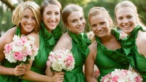 This Lucky Green Wedding is a DC Prepster's Dream