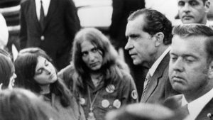 The Story of the Really Weird Night Richard Nixon Hung Out With Hippies at the Lincoln Memorial