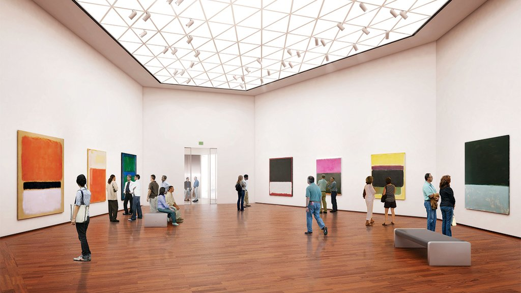 The East Wing of the National Gallery of Art houses the museum's contemporary collection. Photograph courtesy of the National Gallery of Art.