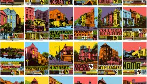 Check Out These Colorful Posters of DC Neighborhoods
