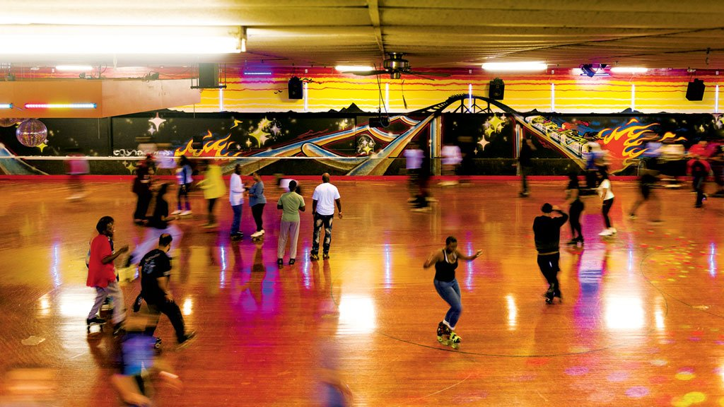 Roller Skating. Temple Hills Skate Palace