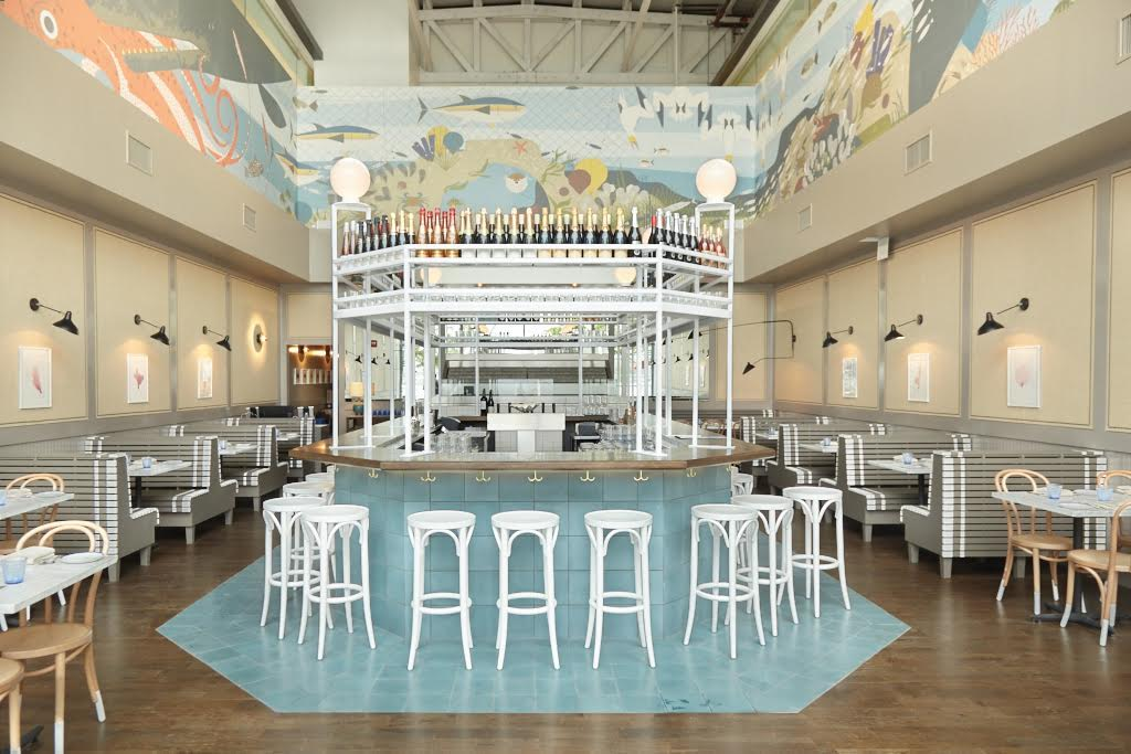Whaley's opens with a raw bar and modern seafood menu near Nationals Park. Photography by Jeff Elkins