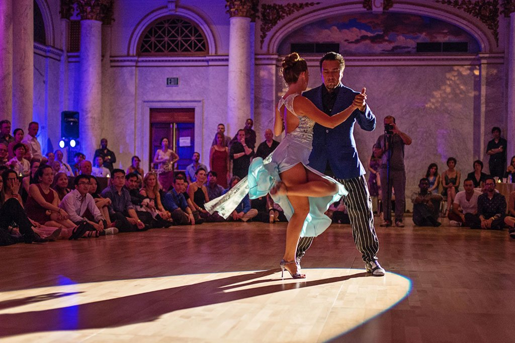 DC staycation: July's Tango Element festival is an immersion in Argentinian dance and music. Photograph courtesy of Melody Yazdani/Tango Element.