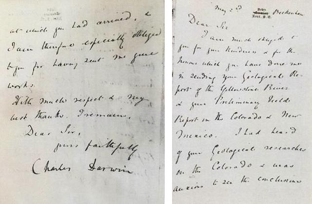 Darwin letter