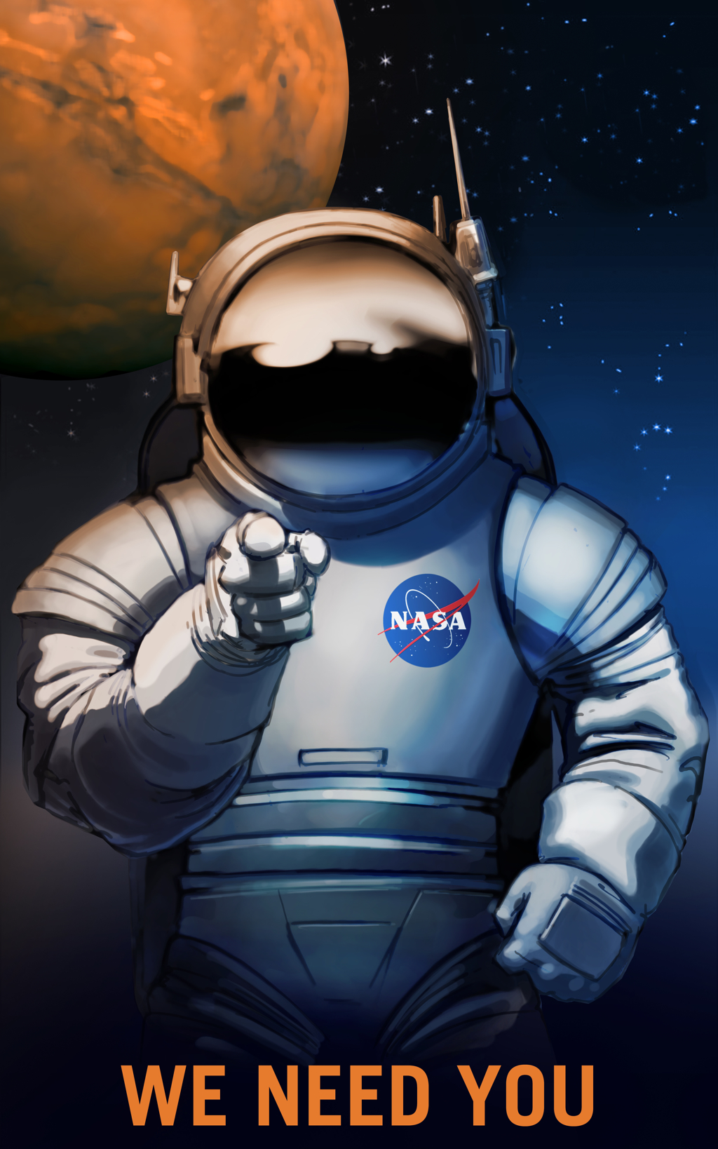 Images courtesy NASA.