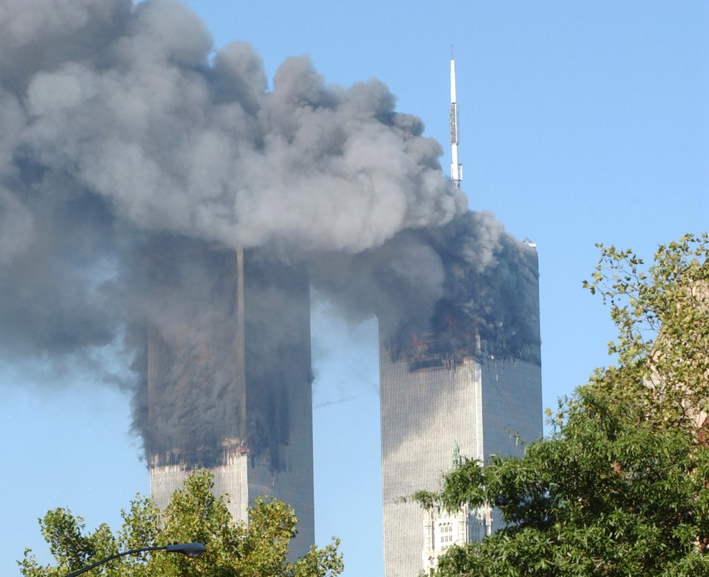 "Trump has claimed he saw footage of ""thousands"" of Muslims in New Jersey celebrate the destruction of the World Trade Center. There was no such video. Photograph via iStock."