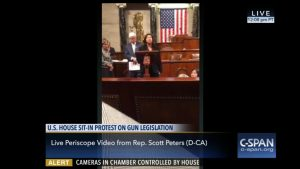 Here's How C-SPAN Put House Democrats' Sit-in on Television