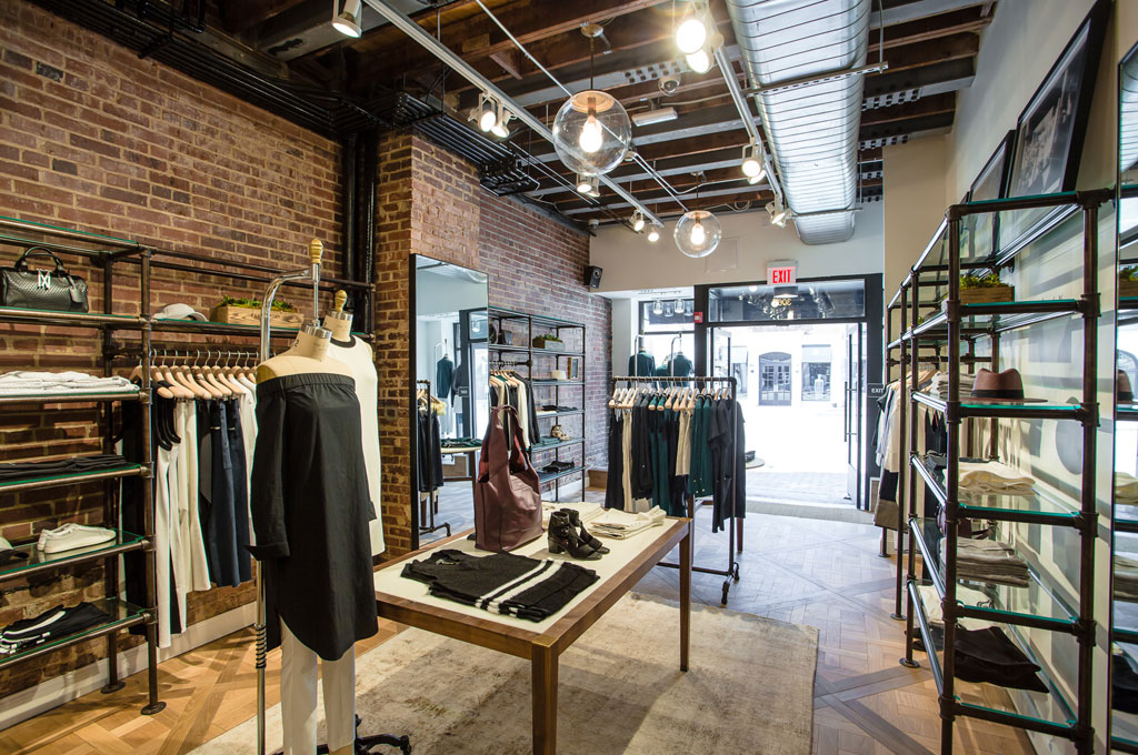 The 875-square-foot boutique sits adjacent to Rag & Bone's original Georgetown storefront.