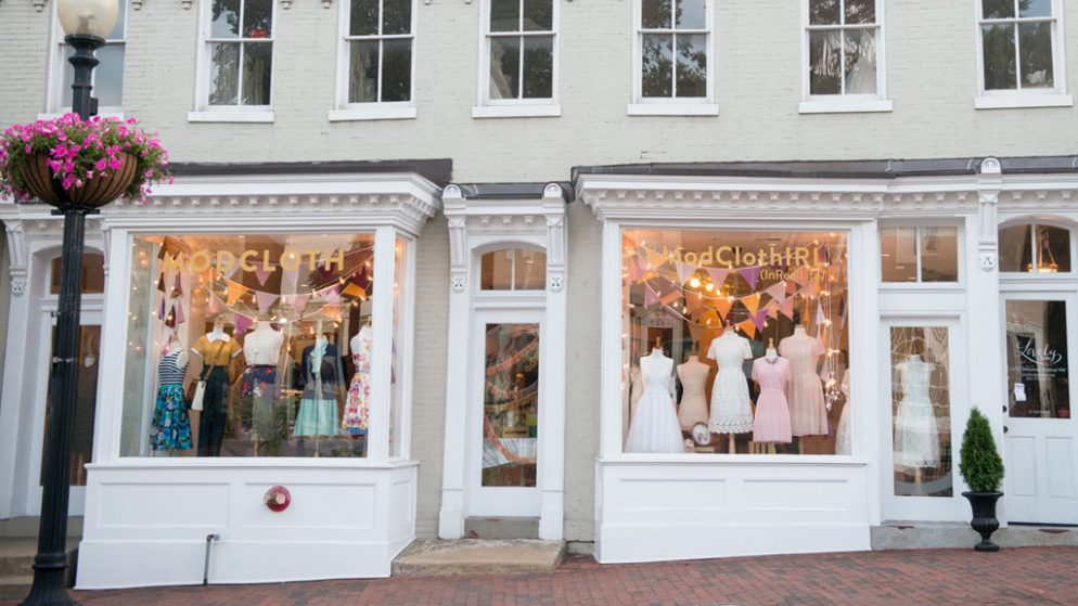 Check Out the Modcloth IRL Pop-Up, Now Open in Georgetown