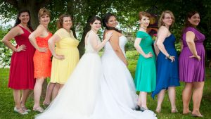 Just in Time for Pride: Two Virginia Brides Marry in an Epic Rainbow Wedding