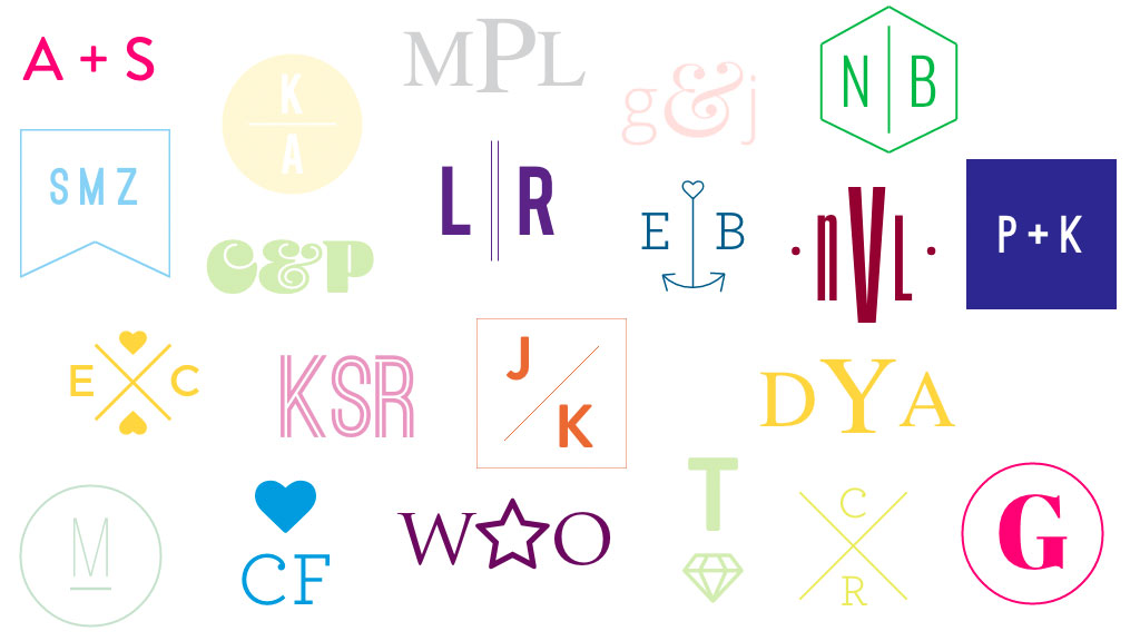 Hashtag Generator Wedding.You Are Going To Spend So Many Hours Playing With This New Monogram