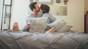 After Seeing This Capitol Hill Couple's Pics, You'll Want to Take Engagement Photos in Your PJs, Too