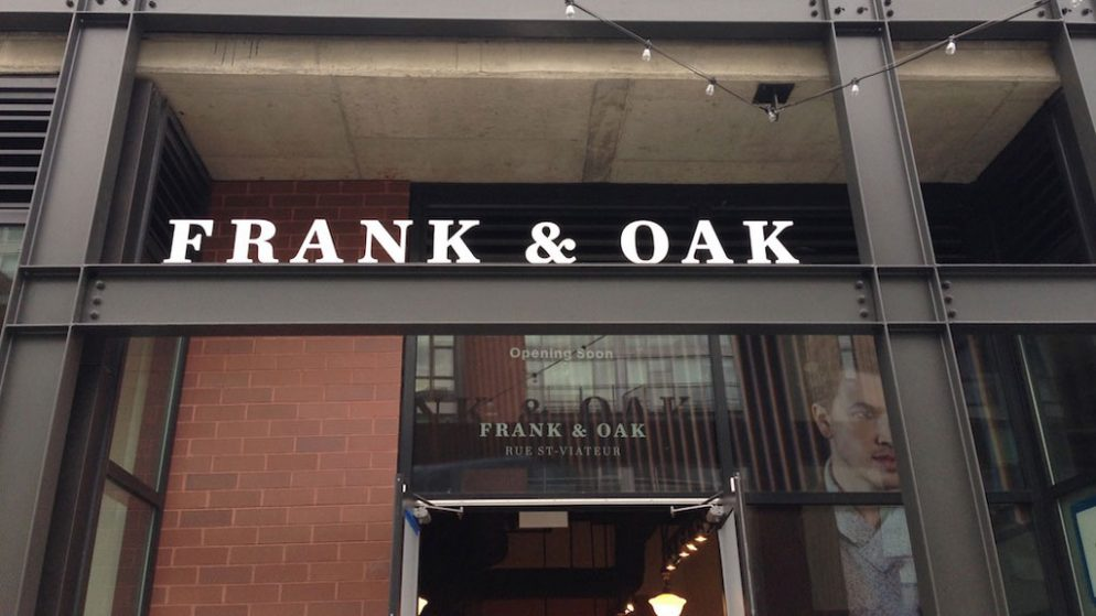 Frank + Oak is Launching a Womenswear Line This Fall