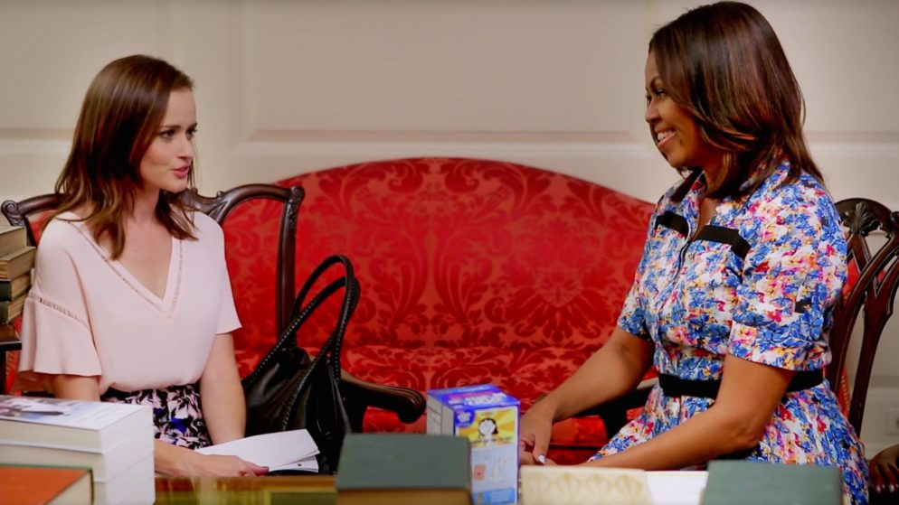This is Why Rory Gilmore Was on Michelle Obama's Snapchat