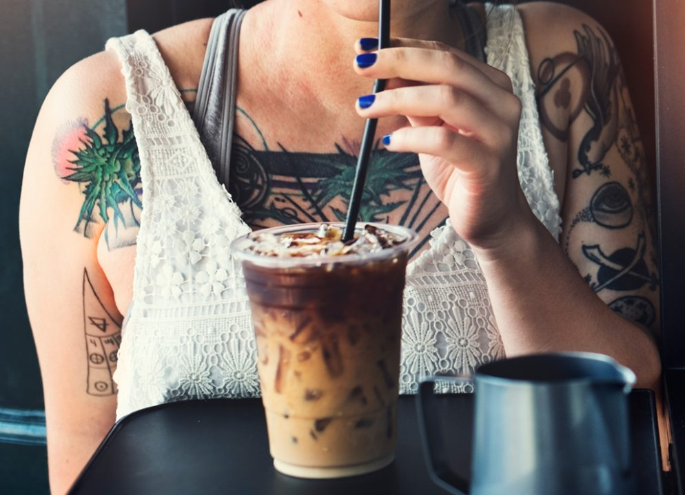 This Simple 7-Eleven Hack Will Get You a Great Iced Coffee for iced coffee hack. Photograph via iStock.