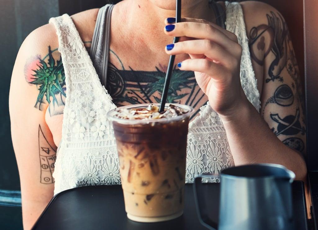 iced coffee hack. Photograph via iStock.