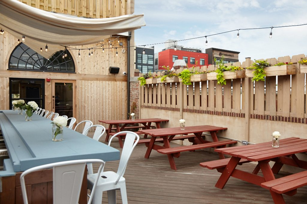 Homestead, a neighborhood-oriented bar and restaurant, opens in Petworth with plenty of outdoor space. Photography by Jeff Elkins