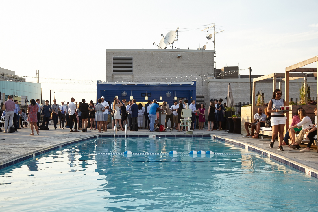 Photos from the Liaison Capitol Hill DC's Rooftop Unveiling