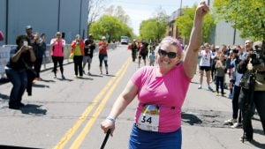 She Ran 34 Races in One Year and Came in Dead Last Every Time. Now She's a Local Hero.