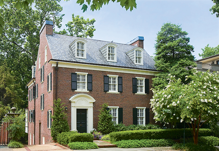 Bloomberg Media CEO Justin Smith's Kalorama home. Photograph by Homevisit.