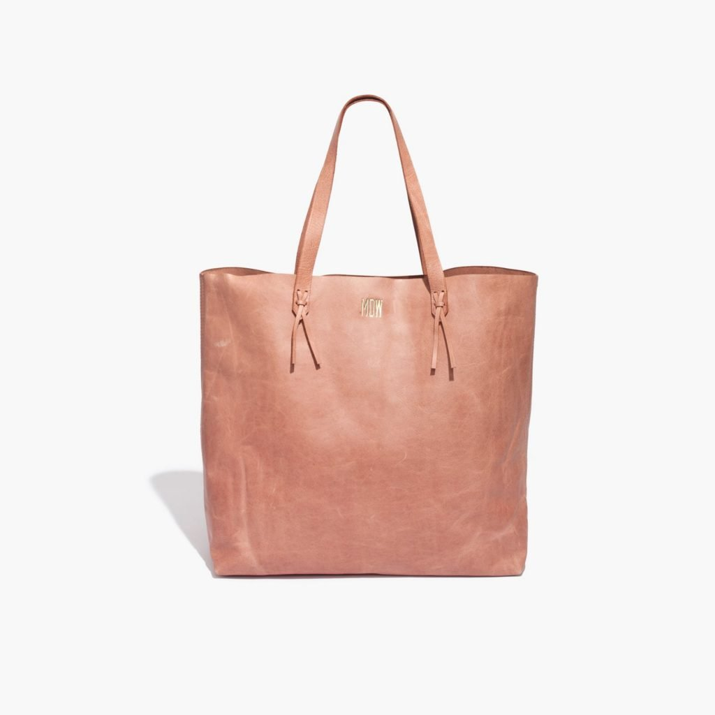 """The transport tote"", $168 at Madewell."