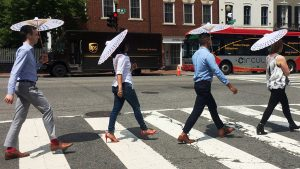 Georgetown Has Launched a Parasol-Sharing Program