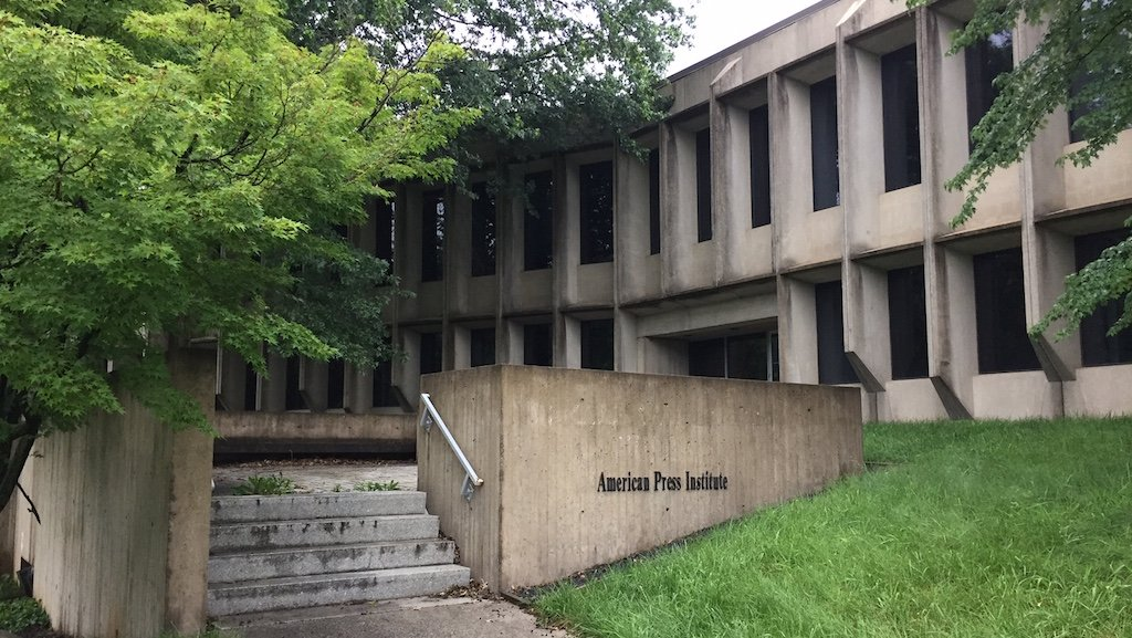 Marcel Breuer building in Reston, Virginia