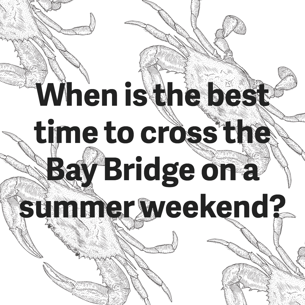 best-time-cross-bay-bridge-summer
