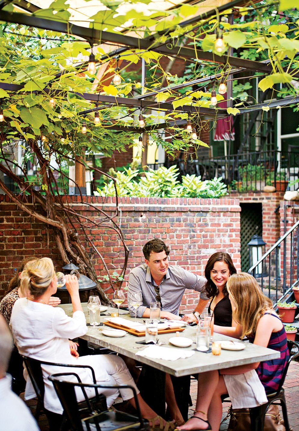 Pretty patios for brunch around dc