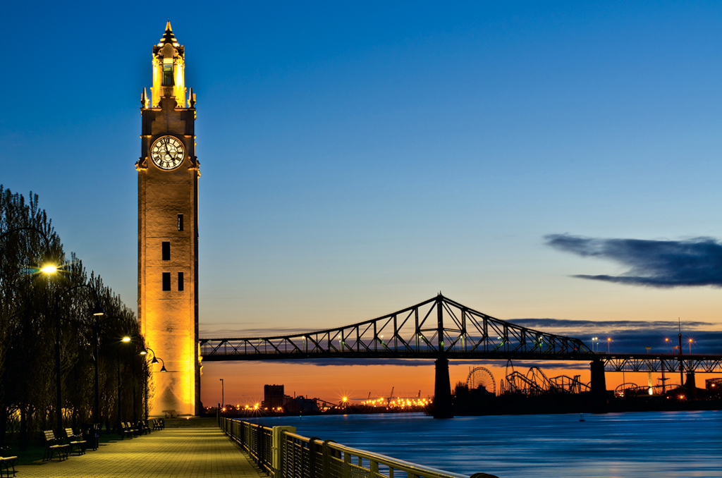"Travel Guide to Montreal: Historic ""Old Montreal."" Photograph by Michael Vesia."
