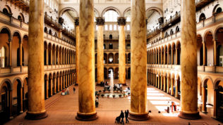 National Building Museum; Photograph by Flickr user Phil Roeder.