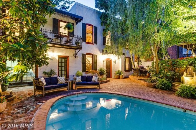 Listing We Love: This Stunning Converted Stable Has a Hidden Pool