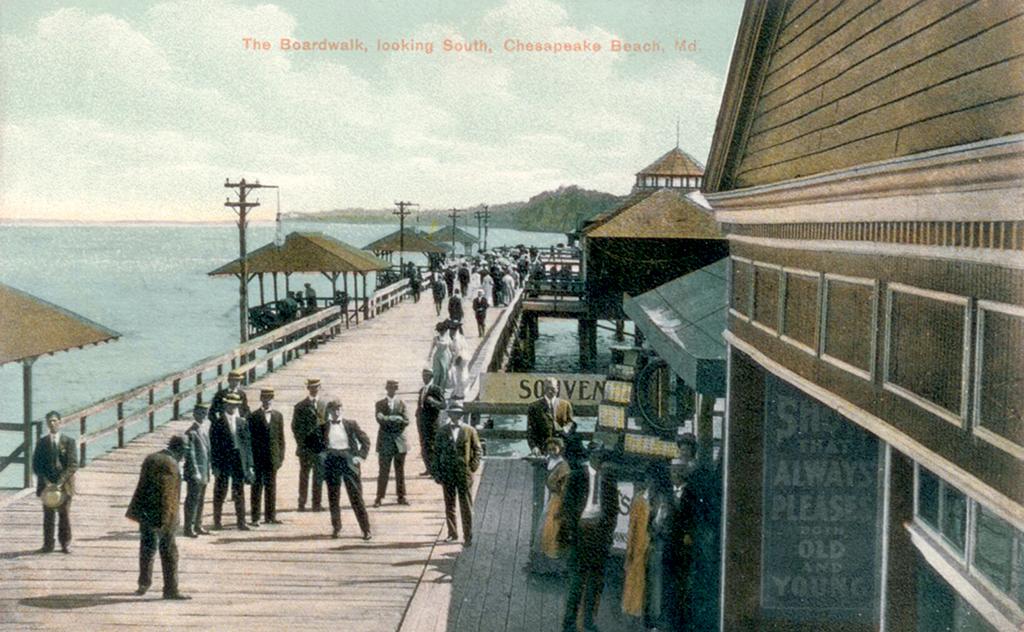 Photograph courtesy of Chesapeake Beach Railway Museum.
