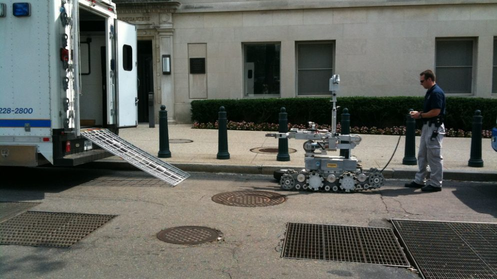 Could DC Police Use Their Bomb Robot to Deliver an Explosive?