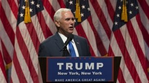 At Very Anti-DC Republican Convention, DC Statehood Activists Claim Mike Pence as One of Their Own